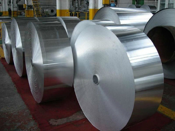 Mill Finish Steel Aluminium Foil Roll Cold Drawn Alloy / Non - Alloy 0.08-0.3 mm Thickness